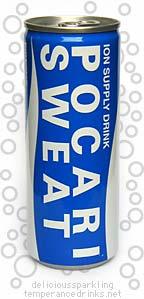 Delicious Sparkling Temperance Drinks Pocari Sweat